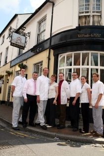 The Guildhall Tavern Management and Staff