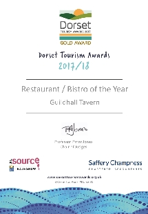 Dorset Restaurant of the Year