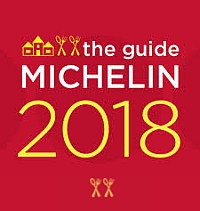 Michelin Restaurant Guide with 2 Michelin Forks