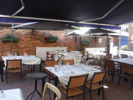 Seafood Restaurant with Outdoor Dining in Poole